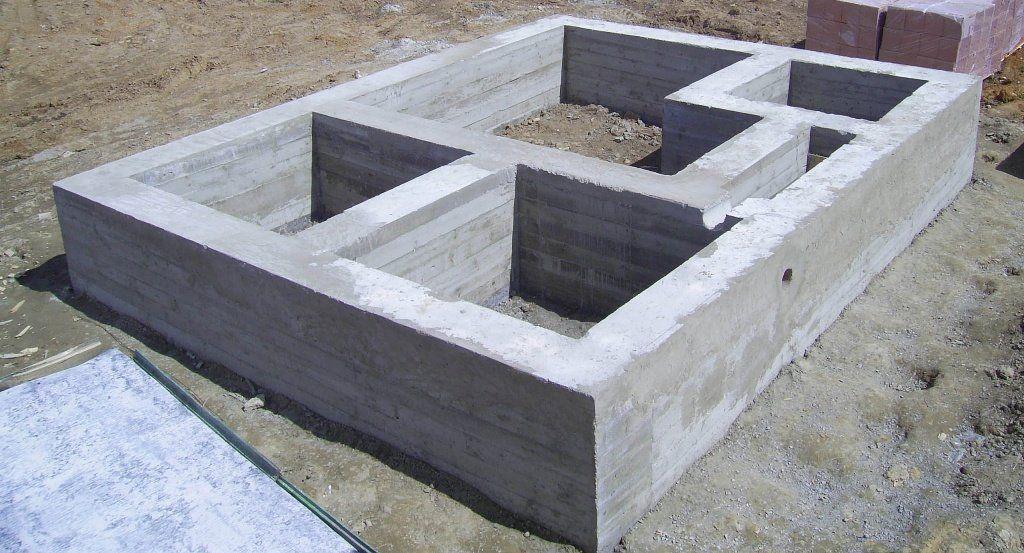 плиточный фундамент, фото, фотографии, картинки, проект