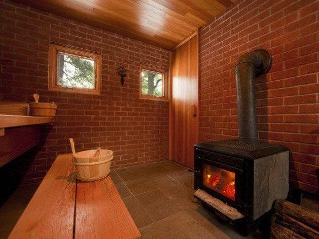 Как сделать баню из кирпичного дома